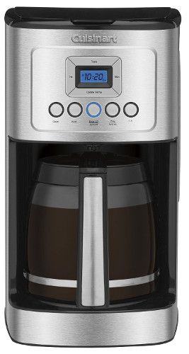 Cuisinart DCC 3200 Perfect Temp 14 Cup Programmable Coffeemaker, Stainless  Steel