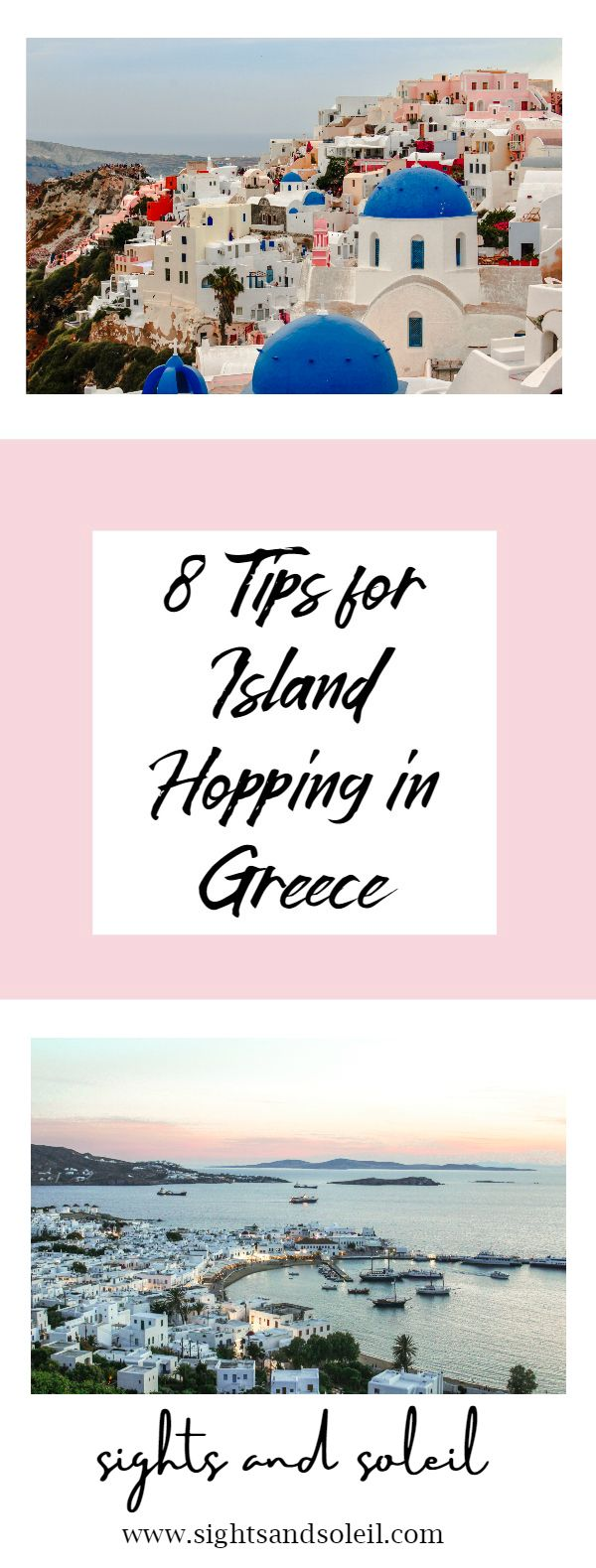 8 Tips for Island Hopping in Greece