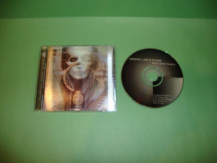Brain Salad Surgery [Rhino Bonus Track] by Emerson, Lake & Palmer (CD, Jul-1996)