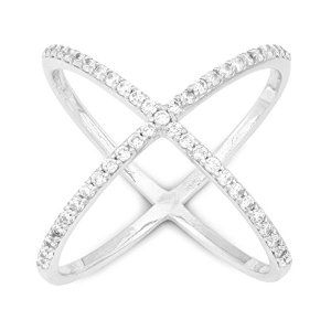 Find it here: http://amzn.to/2lj9uVW  Definitely adding this one to my jewellery collection! Such a modern chic feel to this criss cross pave CZ ring!   #krissylovesbling #statementrings #statementfashion #statementjewellery