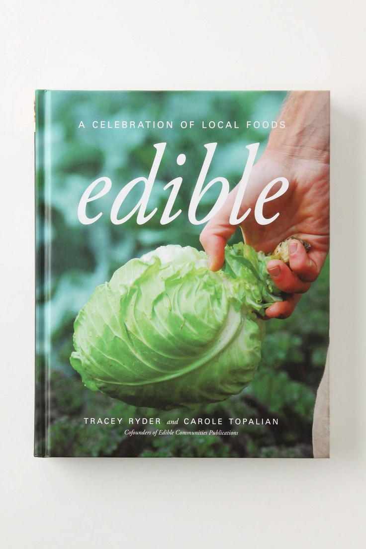 Edible, Anthropologie $14.95: Books, Gifts, Anthropologie 14 95, Products, Edible