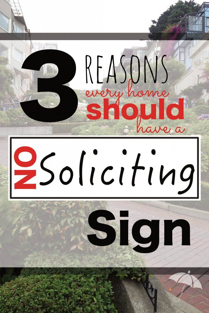 I had two minutes before picking my kids up from school when there was that dreaded knock on the door. Get your No Soliciting sign free printable here!