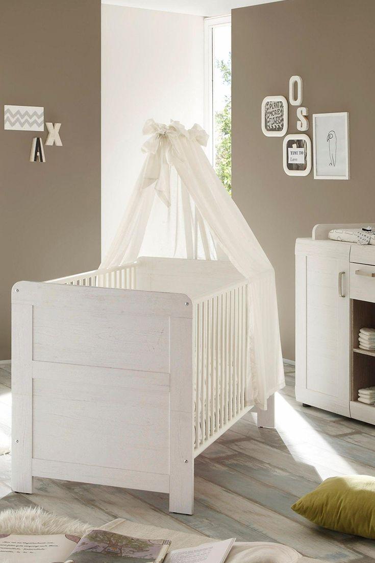 Cool Komplett Babyzimmer Landhaus Babybett Wickelkommode Kleiderschrank tlg in pinie NB wei