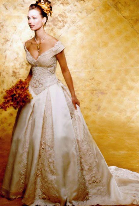 st pucchi 9106 | timeless wedding dresses st pucchi style 9106 1999 amazingly style