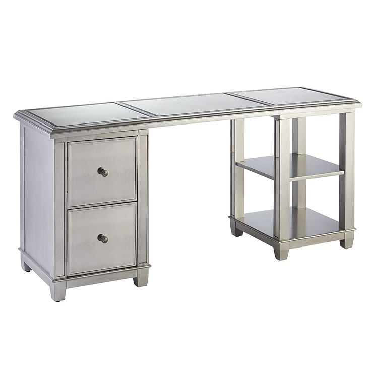 97 Best Images About Office Furniture Desks On Pinterest Gray Desk Pedestal And Antiques
