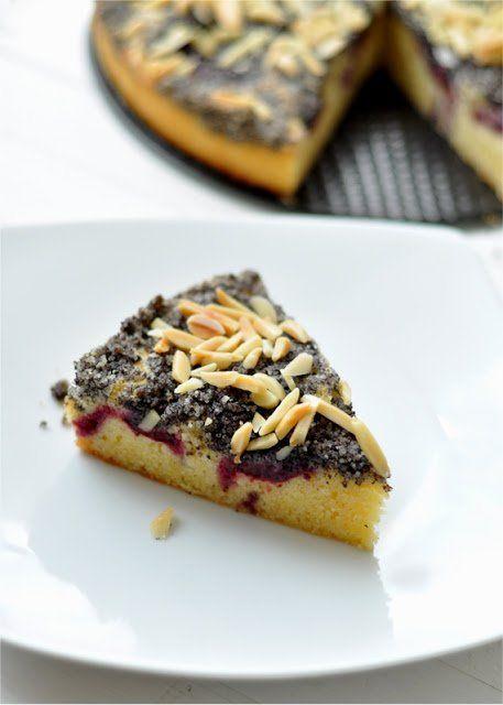 Mákos-szilvás süti | Csak a Puffin