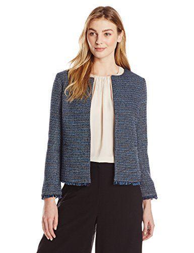 Lark & Ro Women's Tweed Jacket