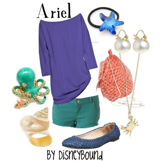 That color combo | Disney Style | Pinterest | Ariel Disneyland Outfits and Disney Inspired Outfits