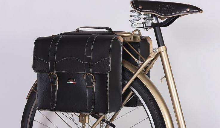 Sakwa Monte Grappa Black | Rowery miejskie Bikes Bazaar, akcesoria rowerowe