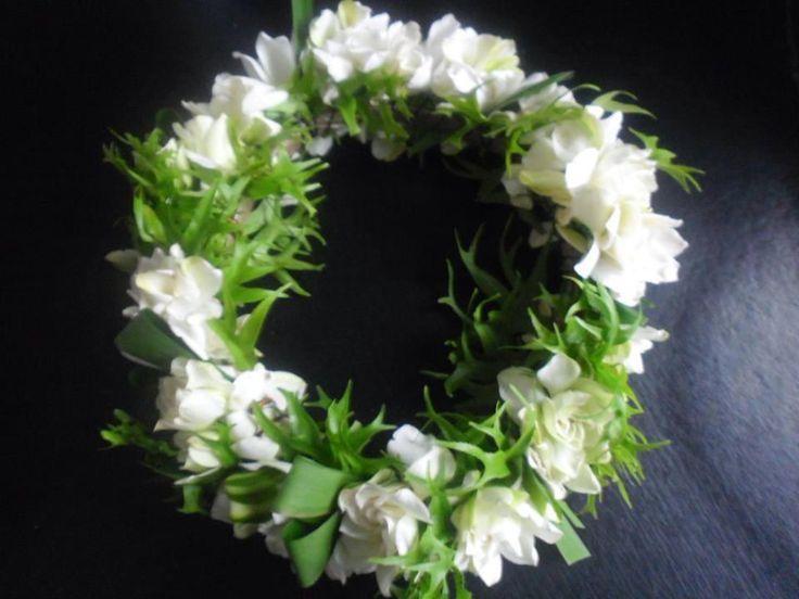 Cook Island Fresh Flower Headband