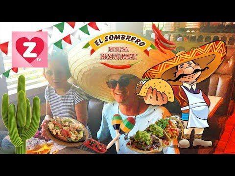 Ресторанная еда Мексиканская кухня Mexican  cuisine Zlatushatv