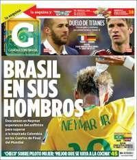 Mundial Brasil 2014 Cancha MX jul4/14