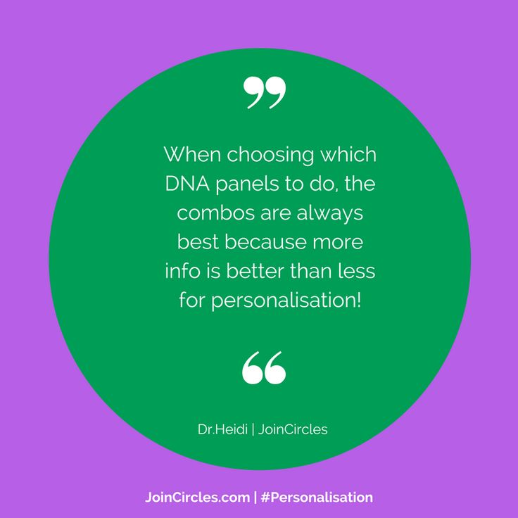 """Dr Heidi: """" The more #info you have about your #DNA, the more you can #personalise your #nutrition #environment & #lifestyle #choices"""""""