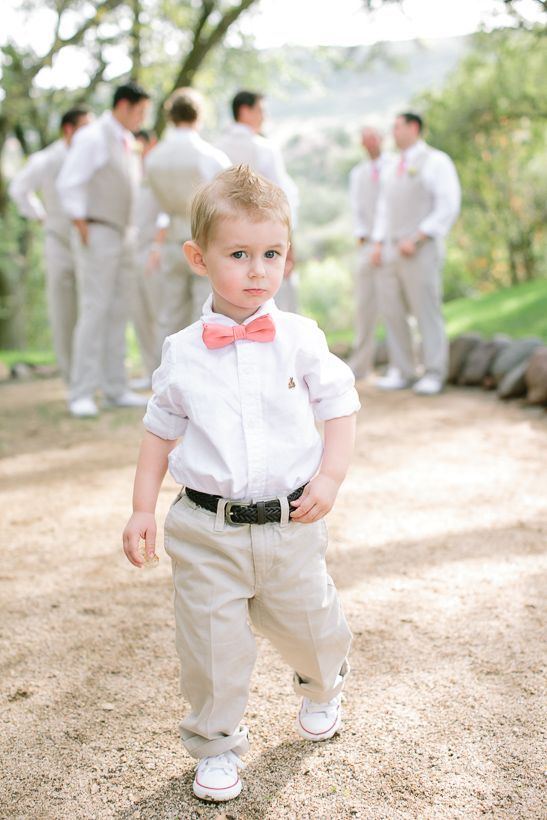 ring bearer outfits | Cute ring bearer outfit The bow tie is a must haha