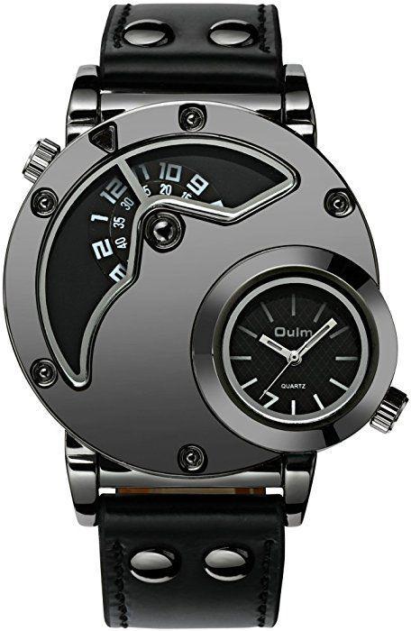 Montre Homme Grand Cadran Montre Militaire Etanche Sport Dual Time Style de Mode Entreprise… - http://soheri.guugles.com/2018/02/23/montre-homme-grand-cadran-montre-militaire-etanche-sport-dual-time-style-de-mode-entreprise/