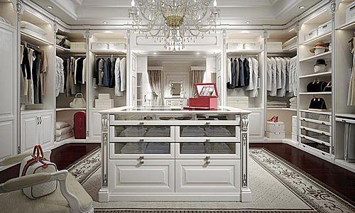 Elegant High End Walk In Closet Design For Large Room U2013 Classic Italian Furniture
