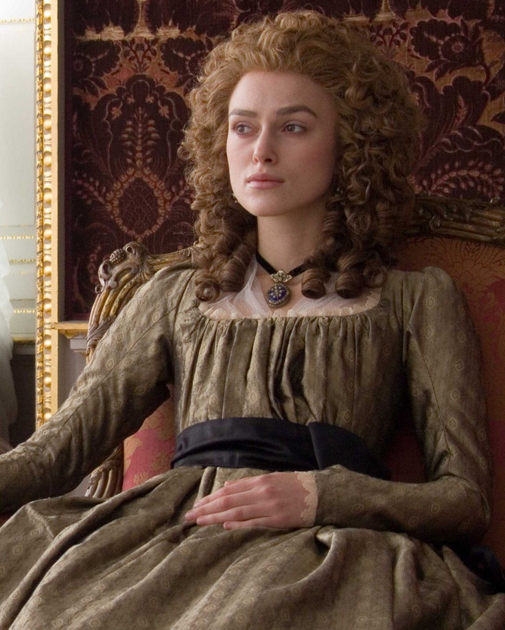 Keira Knightley as Georgiana, Duchess of Devonshire in 'The Duchess', 2008