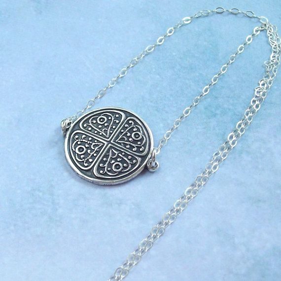 Silver Celtic Necklace Sterling Silver by SterlingSimplicity, $22.00