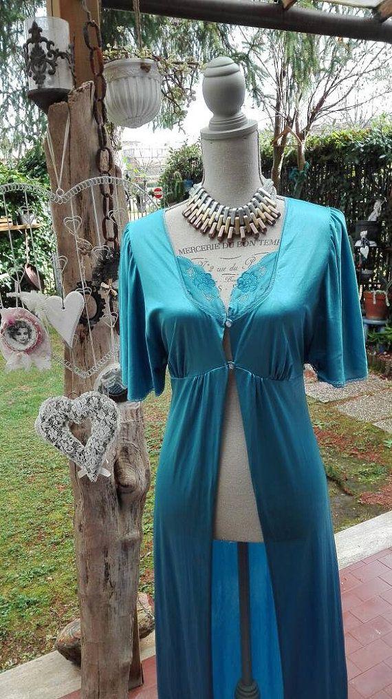 Guarda questo articolo nel mio negozio Etsy https://www.etsy.com/it/listing/268360972/dressing-gown-vestaglia-shabby-chic