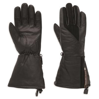 Harley-Davidson Gage Leather Gauntlet Gloves