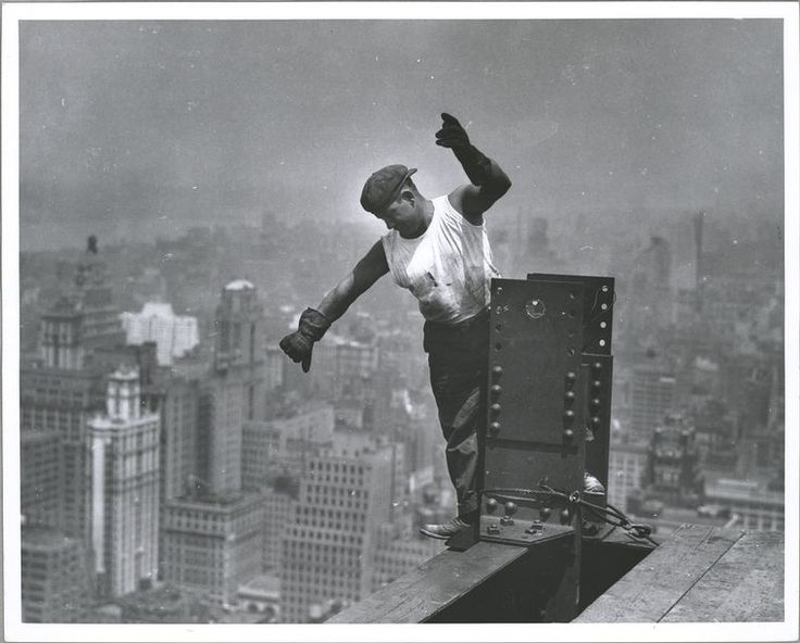 24 Jaw-Dropping Photos Of The Construction Of The Empire State Building: