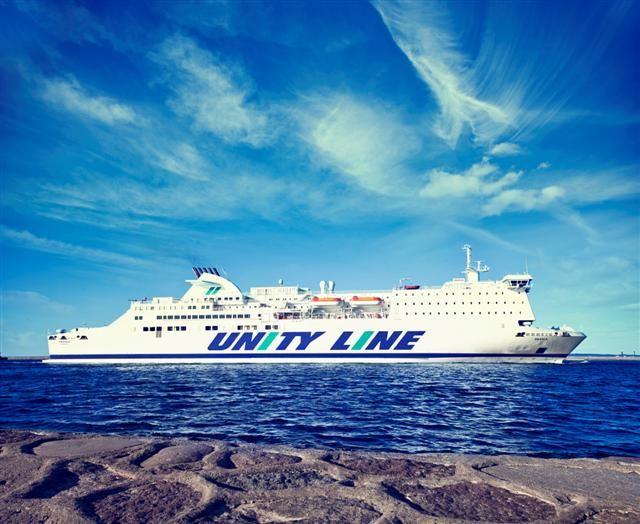 #unityline #ferry #ferries #skania #sea #swinoujscie #poland