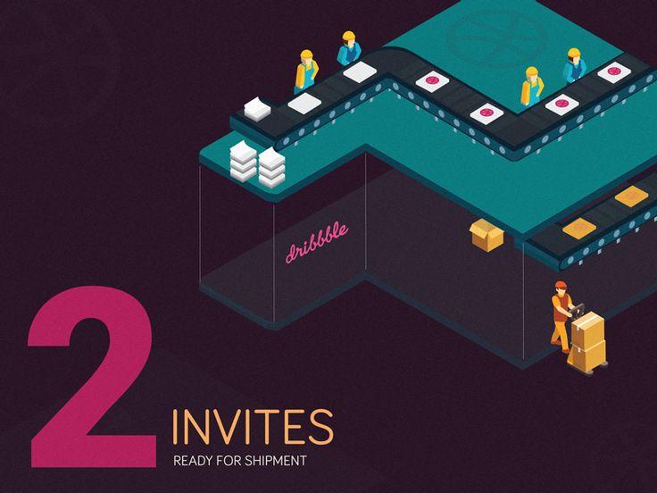 Dribbble Invite by Pawanpreet Singh
