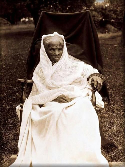 blackpoemusic: Harriet Tubman an exceptional American heroine. During slavery she was involved in the underground railroad movement. She freed thousands of slaves, but she couldn't free the ones who didn't know that they were slaves.