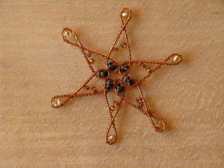 vánoční ozdoba - hvězda malá