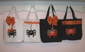 Image result for home sewed halloween candy bags