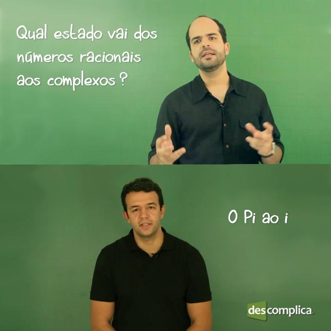 Os professores do Descomplica tiram todas as nossas dúvidas! :D