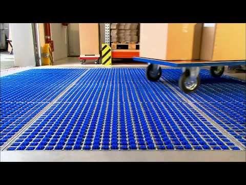 Jak działa kratownica czyszcząca opony ProfilGate na sucho