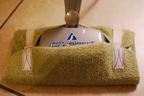 If You Give a Girl a Needle: Steam Mop Pads from Towels (Quick and Easy Tutorial)