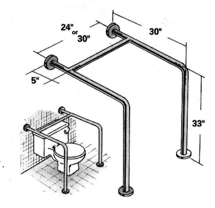 Best Bath Design Safety Images On Pinterest Bathroom - Installing grab bar in bathroom for bathroom decor ideas