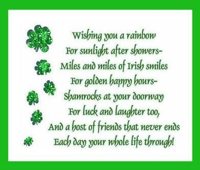 Happy St. Patrick's Day 2016 Irish Blessings, Sayings, Prayers, Toasts to share