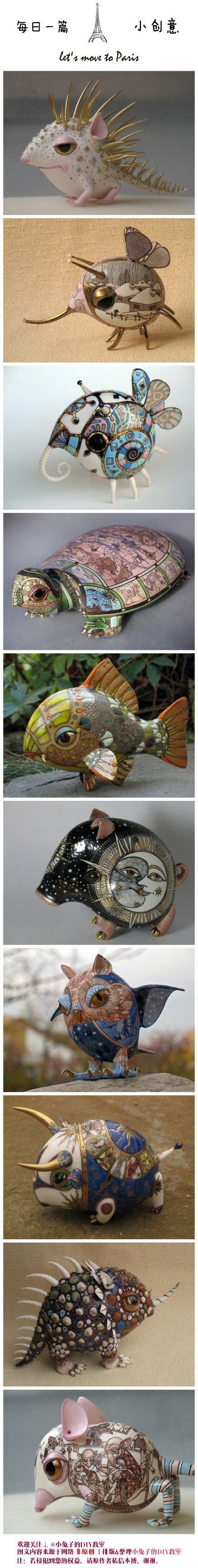 ceramic art from Russia: