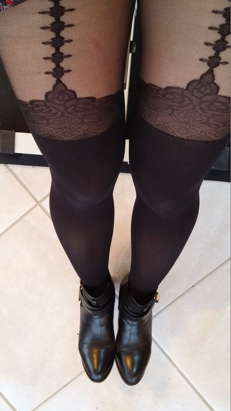 17 best images about tights collants on pinterest sexy leg avenue and print tights - Collants porte jarretelle ...