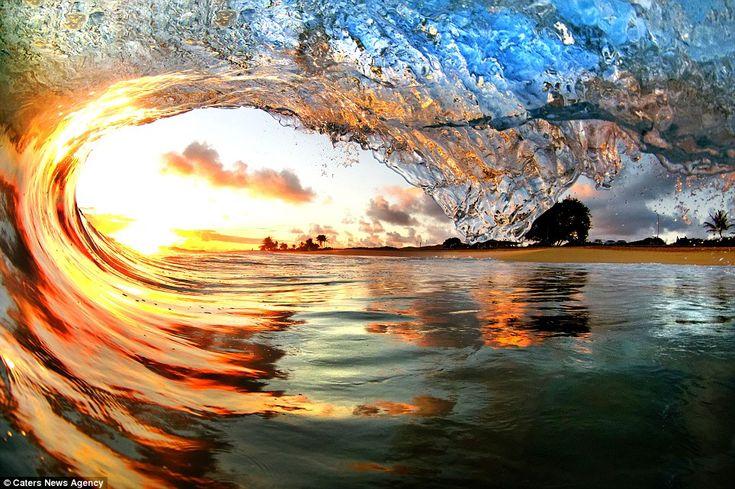 Stunning waves
