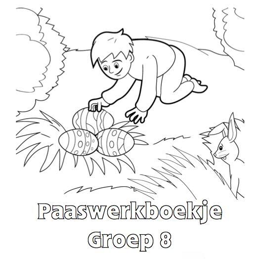 Paaswerkboekje Groep 8