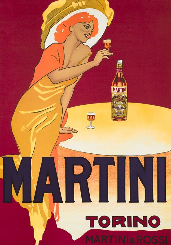 Martini Vermouth Torino (3rd edition) by Dudovich, Marcello