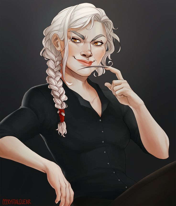 """By cccrystalclear: """"Manon Blackbeak for a witchy october """""""