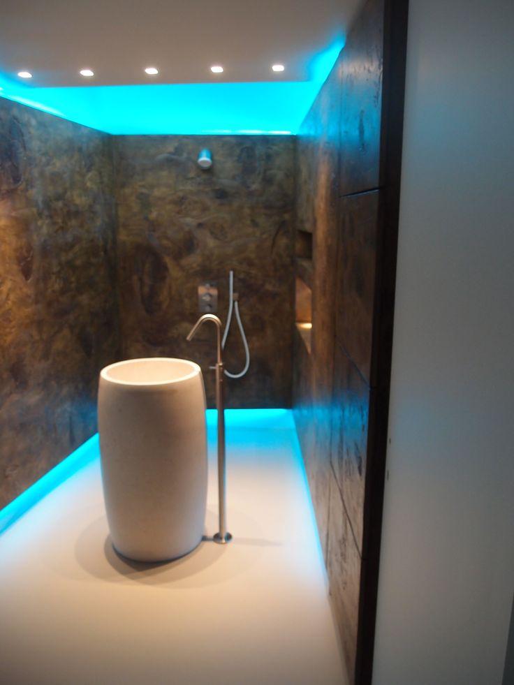 doccia sauna interior design bagno