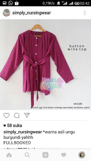 Baju menyusui