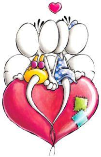 111 best diddl pimboli et akaturbo images on pinterest - Animale san valentino clipart ...