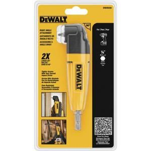 DEWALT, Right Angle Drill Adapter, DWARA50 at The Home Depot - Mobile