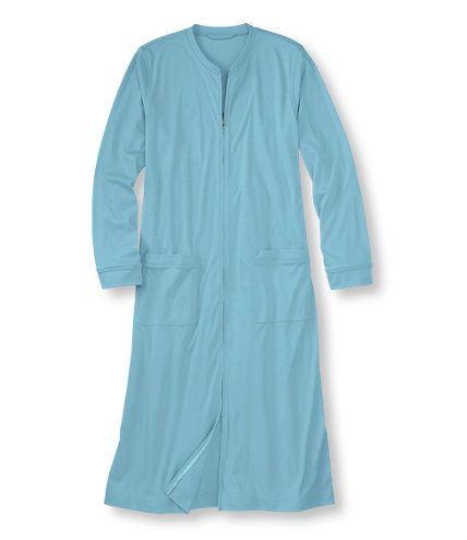 Women's Supima Cotton Zip Robe | Free Shipping at L.L.Bean $49.95