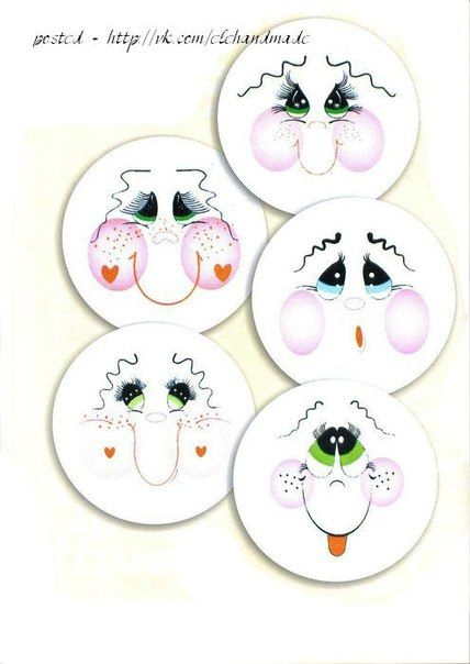 Ben y s m ablonlar tailoring and sewing for Snowman faces for crafts