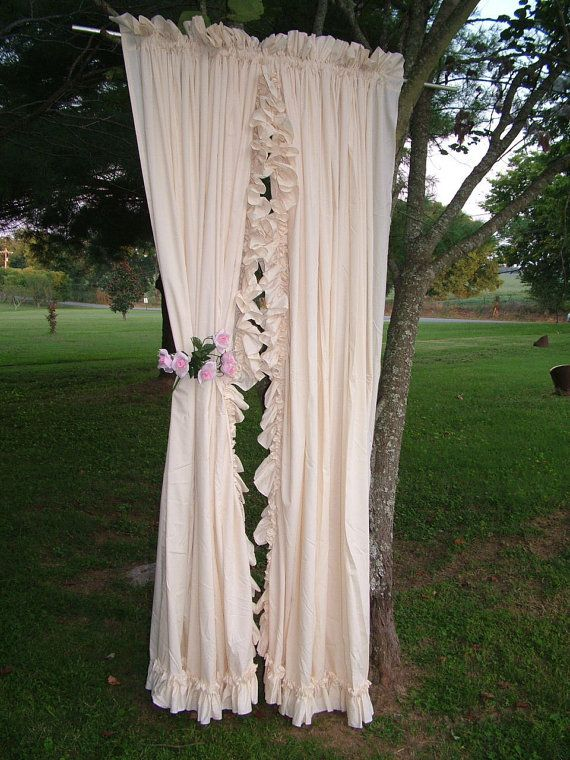 17 Best images about shabby chic curtains on Pinterest   Vintage ...