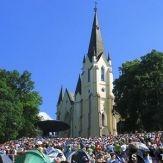 Mariánska hora v Levoči je pútnicke miesto, kam veriaci od nepamäti prichádzajú za Matkou Božou