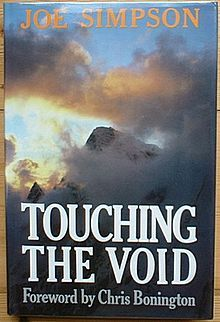 Google Image Result for http://upload.wikimedia.org/wikipedia/en/thumb/3/3d/TouchingTheVoid.jpg/220px-TouchingTheVoid.jpg